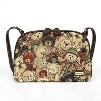 Women bags new 2015 street fashion Canvas cartoon printing bear women  handbag Hot sale Mini bags bolsas femininas