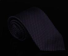Brand Purple Dot Silk Tie Gravatas For Men Formal Business Fashion Classical Masculinas Seda Corbatas Men