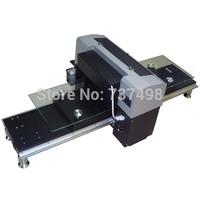 Advanced A3 size 6 colors multi-function flatbed digital printer/ T-shirt printer/ DTG printer continous printing