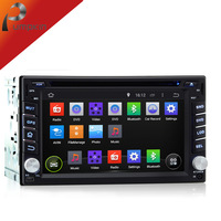 2 Din Android 4.4 Car DVD Player Universal Capacitive Touchscreen+3G WIFI A9 Audio GPS Navigation PC Stereo Radio Steering wheel
