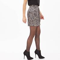 European Style Women Chiffon Skirt Lace Pattern Printed Fold Slim Waist Fashion Sexy Short Style Pencil Skirt Six Size D672