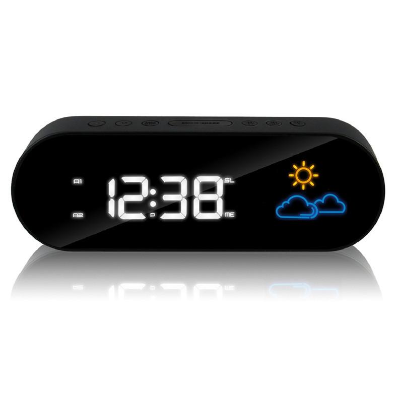 achetez en gros horloge radio num rique en ligne des grossistes horloge rad. Black Bedroom Furniture Sets. Home Design Ideas