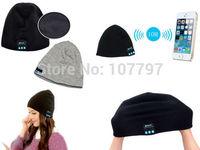 Soft Warm Beanie Hat Wireless Bluetooth Smart Cap Headset Headphone Speaker Mic 2color avaiable