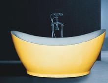 B538 o projeto especial de imersão banheira / banheira profunda banheira amarelo autônomo(China (Mainland))
