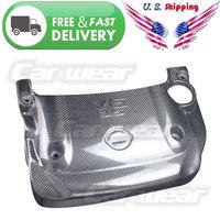 for 2003-2008 Nissan Fairlady Z Z33 350Z Real Carbon Fiber SPARK PLUG V6 ENGINE COVER