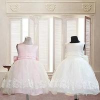 2015 New Girls Christmas Dance Costumes Lace Knee-length Sleeveless Fashion Girl Tutu Dress For Birthday/Wedding/Party/Festival