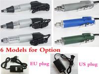 EU Plug! DC Powered Electric Screwdriver 800 + Small Power Supply 220V 801/802/3C/4C/6C Models for Option