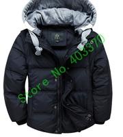 Children down jacket Eider down jacket Hat and sleeves detachable down jacket baby down jacket