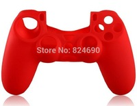 10pcs  RED  Silicone Case for PS4 Controller
