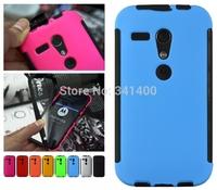 Matte Hard Case For Motorola Moto G/G2 3 in 1 Dustproof Scratchproof Shockproof Cover Phone Cases For Moto G2 Hybrid Hard Case