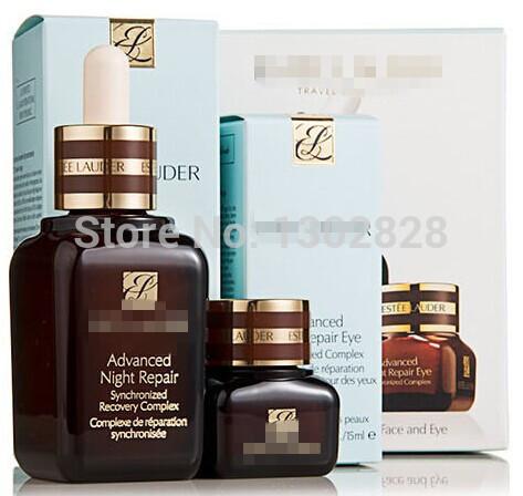 new 2014 Brown bottle 15ml eye cream +50ml face Cream anti aging serum