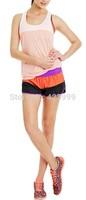 2015 spring and summer lorna jane women's vest lorna jane in women sport top sports top lorna plus size stripe color size XS-L