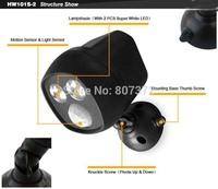 Flood light White Warm & White Motion Sensor Light 6W