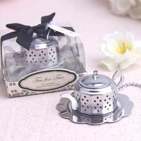 New Arrive 4PCS/LOT  TEA POT infuser wedding favor guest gift