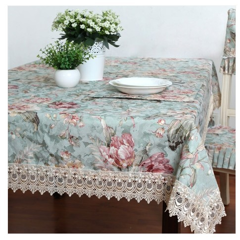 Wallpaper Fabric / American country tablecloths / tablecloth / table cloth / rectangular square table cloth(China (Mainland))