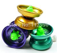 High Speed Magic YoYo Ball Alloy Metal Yo Yo Kids Toys Transform Gyro Free Shipping