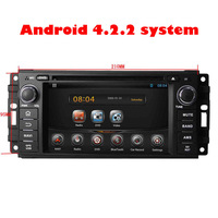 EMS DHL touch screen Pure android 4.2.2 system car dvd for Chrysler 300C Dodge Jeep