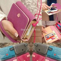 Lady Envelope Wallet Shield Cell Phone Case Cover For Samsung galaxy S3 i9300
