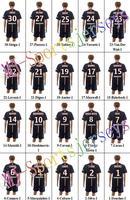 Free shipping-2014/15 Season #9 Cavani Home jersey&short,Soccer team uniforms