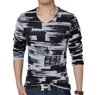 Plus size M-xxl,4xl 5XL New Man Fashion Mens Breathable Mesh Long Sleeve T Shirt For Men Fitness Casual T-shirt Man Tshirt