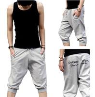 Korean men casual  7 pants  beach pants