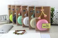 wholesale 3.5 mm earphone Beard big headphones fashion headset Bread Storage ear headphones Free shipping