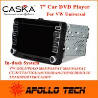 """Caska 2 Din 7"""" Car DVD Player Universal for VW Volks/Volkswagen/Passat/Golf Tiguan/Caddy/Jetta/EOS/Polo GPS Win CE6.0 CA069-UQ8"""
