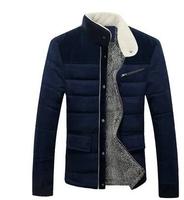 free shipping Winter coat down jacket male teenagers thick warm coat plus velvet jacket