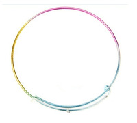 2014 Hot Selling in USA 65mm Diameter Alex and Ani Bracelet Bangles Silver Plated Metal Simple Bracelet For Beading Or Charms