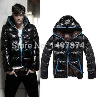 Free shipping men winter down coat ,Men's Down Jackets Waterproof Coat Warm Wadded Jackets Men Winter Coat Outwear Plus size XXL(China (Mainland))