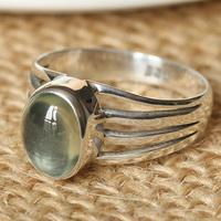 Bohemia female brief cutout natural high quality chiltonite ring