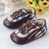 Brand New Plaid Baby Toddler Sneaker Sport Casual Babies Prewalker Infant Bebe Rubber Sole Shoes First Walker Trainer