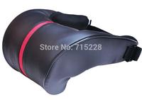 Korea Fouring microfiber pu car neck pillow car headrest car with a U-shaped neck pillow car headrest 2pcs