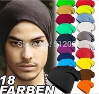 10pcs/lot Hot Sale 2015 New Fashion Winter Men Women Solid Color Elastic Hip-Hop Cap Beanie Hat Slouch 9 Colors Free Size