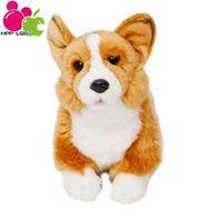 Plush Dogs Toys Stuffed Dolls For Girls Boys Anime Stuffed & Plush Animals Kids Gifts Children Hobby Welsh Corgi 6007