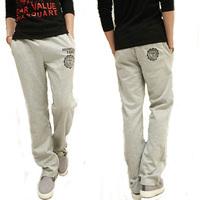 Men sports pants casual long pants Korean version  fall  feet straight Slim pants trousers Wei pants tide