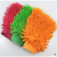 New Hot Sale Car Wash Glove,Microfiber Chenille car cleaning cloth,chenille car cleaning glove,drop Free shipping