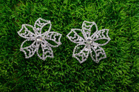 free shipping  5 pcs Small Costume Crystal Rhinestone Applique  DIY Sewing Clothing Accessories(D2191
