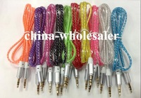 Aux audio Cable Male to Male M/M 3.5mm Audio Stereo Cord for iPhone 4s 4 5 5s 6 plus Samsung Galaxy s3 s4 s5 Note 4 3 iPod