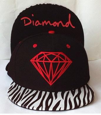 Free shipping DGK X Diamond Supply Co.Snapbackhat Black cheap men's most popular adjustable caps wholesale hats china(China (Mainland))