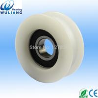 China High Quality 12x44x16mm U/V Groove wheel 6001 2RS Groove Wheel, Elevator/Cable Wheel