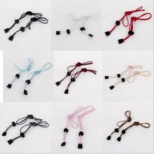 New 2015 New A Pair Locking Shoe Lace Elastic Shoelaces Running/Jogging/Sports(China (Mainland))