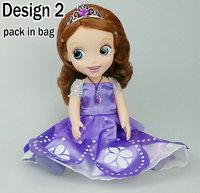 Retail&Wholesale!2014 New Princess Sofia Girls Toy Cartoon Vinyl Doll Toys Kids Toys Free Shipping Christmas Girls JuguetesKT071