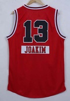 2014 -15 christmas day Chicago #13 JOAKIM Noah Men's basketball jersey red