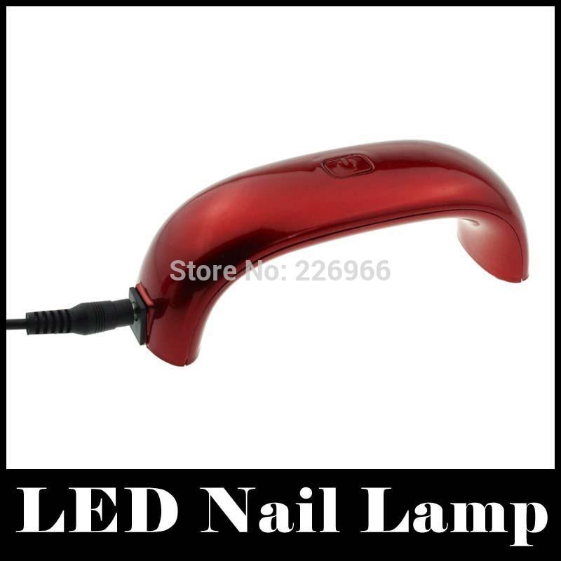 ponte a forma di 9w led lampada uv per la polimerizzazione asciuga unghie smalto per unghie in gel asciugatrice cura lampada per gli strumenti di nail art macchina di cura per le donne
