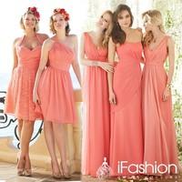2014 dress for bridesmaid free shipping vestido de festa bn29