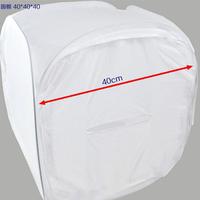 New Photo Studio Soft Box Shooting Tent Softbox Cube Box, 40 x 40cm/Photo Light Tent + Portable bag + 4 Backdrops Free shipping