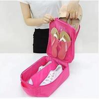 Hot Sale Shoes Travel Storage Bag Waterproof Nylon Portable Organizer Bags Shoe Sorting Pouch Wholesale
