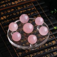Natural powder crystal seven array ornaments   Free shipping