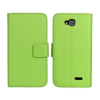 New Green Black White 3 Colors Wallet PU Leather Case for LG L90 D405 D405N Dual card with Stand & Card Holder